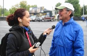 press interview