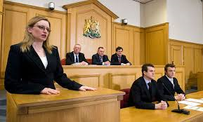 UK magistrates courtroom